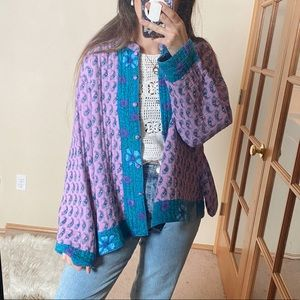 Vintage Reversible Paisley Quilted Jacket
